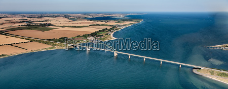 puente fehmarnsund desde el aire