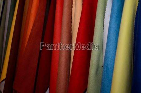 color textil materiales modelo muestras de