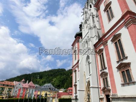 iglesia ciudad baja austria peregrinacion cielo