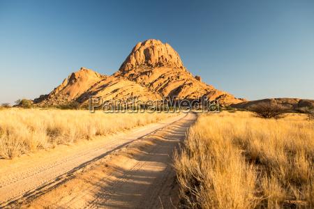 desierto africa namibia estepa montanya