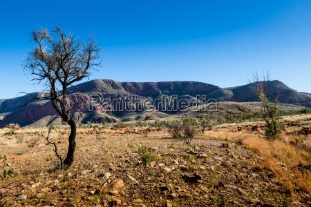 caminata australia crater interior seco emigrar