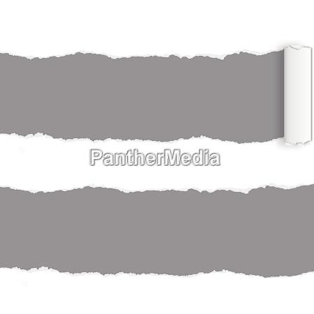 página, rip, -, papel, rasgado - 9897536