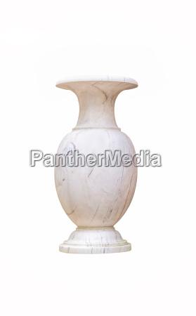 arte antiguo marmol decoracion olla tallado