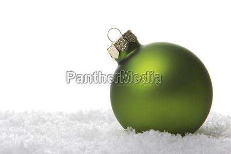 navidad bola de navidad verde