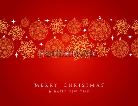 feliz, navidad, elementos, decorativos, frontera. - 10100848