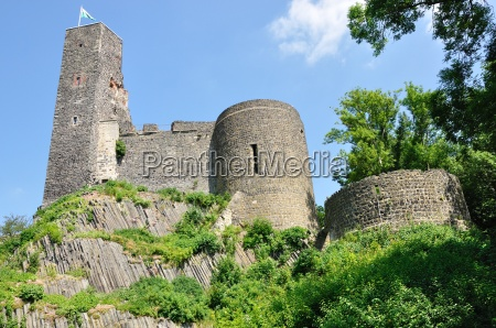 famoso vista fortaleza sajonia castillo