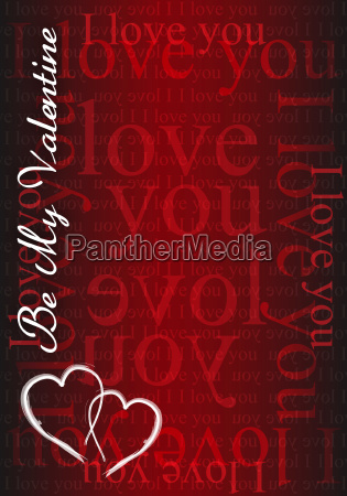 be my valentine i love