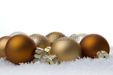 navidad bolas de navidad y la