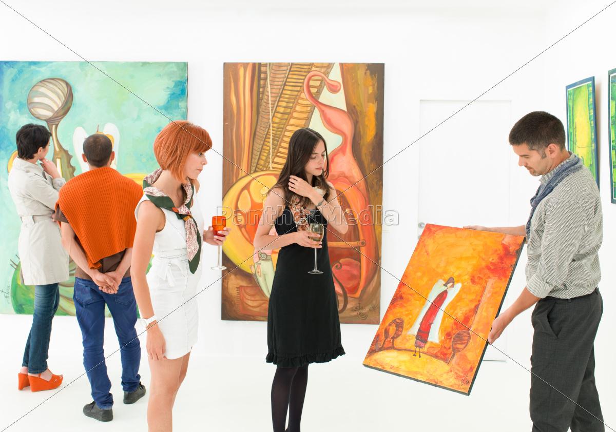 coleccionistas, de, arte, en, la, apertura - 10188785