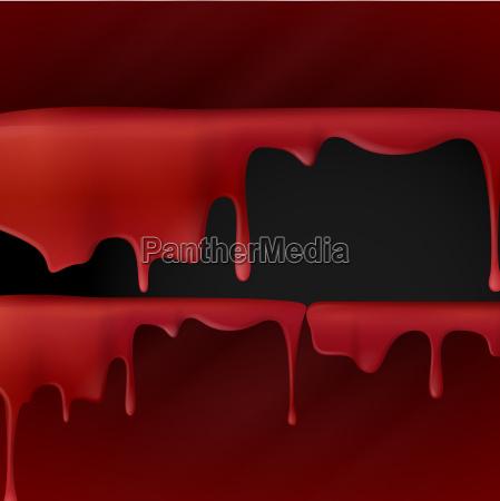 goteo, de, sangre, roja. - 10197765