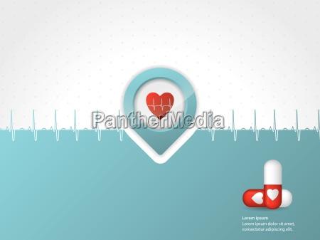 medical, background, design, with, symbols - 10197195