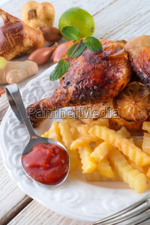 restaurante comida pajaro negro aves gastronomia