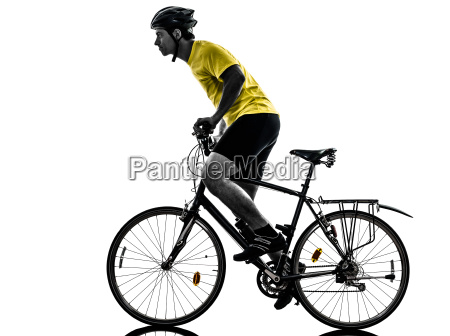 el, hombre, en, bicicleta, bicicleta, de - 10335057