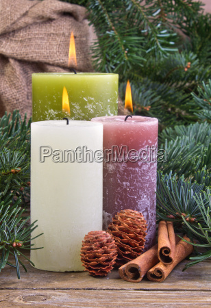 anise cinnamon candle candles wood wooden