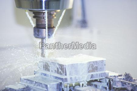 industria produccion componente precision pieza de