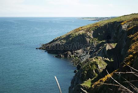cliffwalking entre bray y greystones irlanda