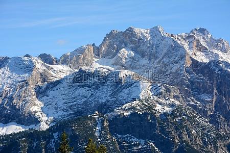nieve montanya castillo