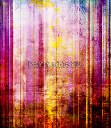 abstract stripes pattern old