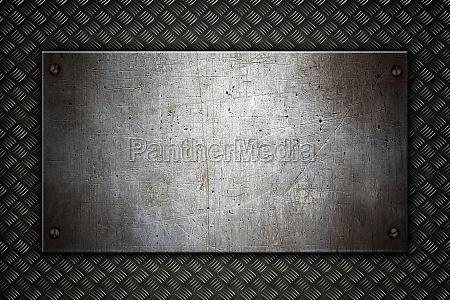 fondo de metal