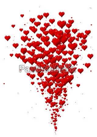 eruption of hearts heart icons for