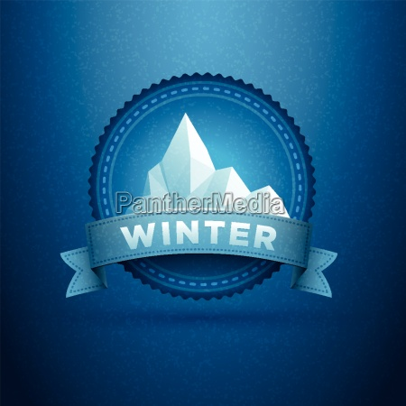 winter badge