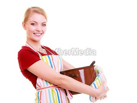 glad husmor eller kok i kokkenet