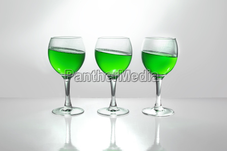 vidrio vaso beber bebida verde alcohol