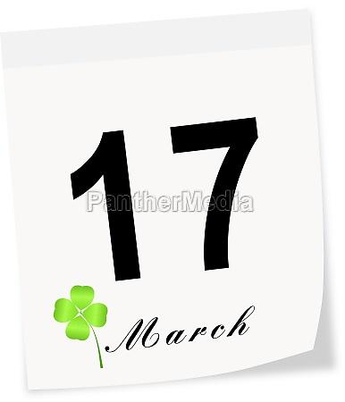 stpatricks day on march 17 th