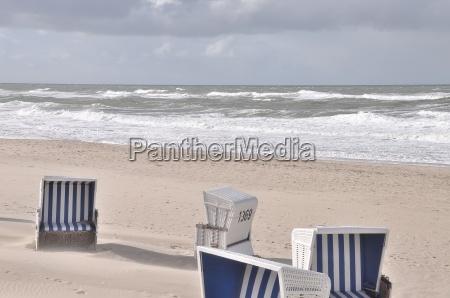 sylt beach chairs