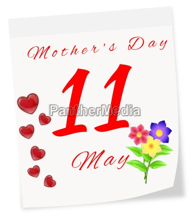 international mothers day on may 11