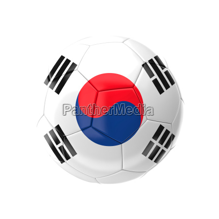 south korea soccer ball