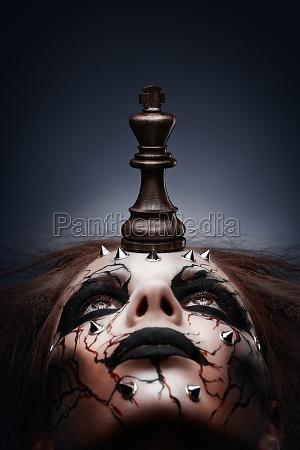 derrotado por el rey del ajedrez