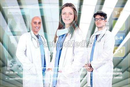 el equipo de medicos
