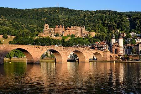 castillo de heidelberg y puente viejo