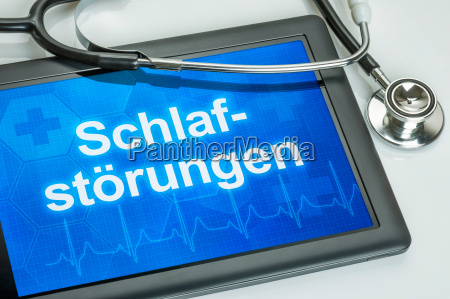 tableta diagnosticada con alteraciones del suenyo