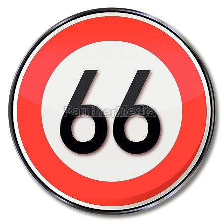 velocidad de la placa 66