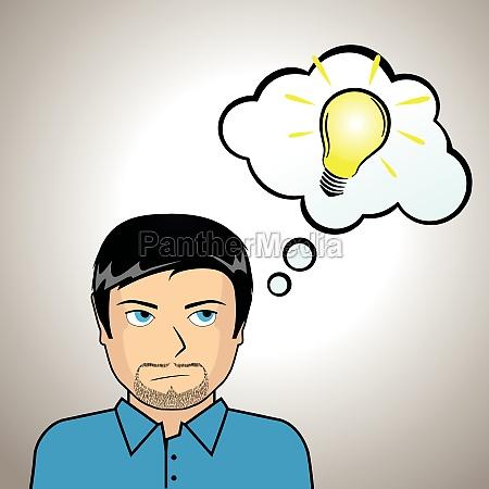 ilustracion de la idea