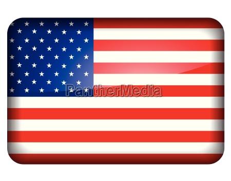 icono de la bandera americana
