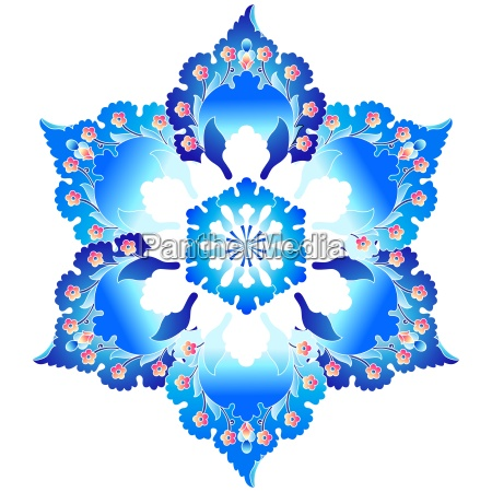 azul antiguo sumision sin costura oriental