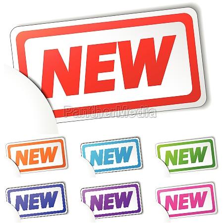 nuevo coleccion etiqueta icono anstecker nodulo