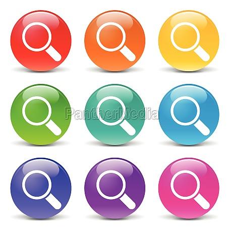 vidrio vaso boton icono iconos red