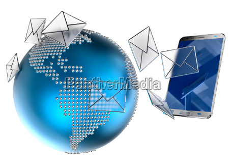 correo electronico o sms enviados al