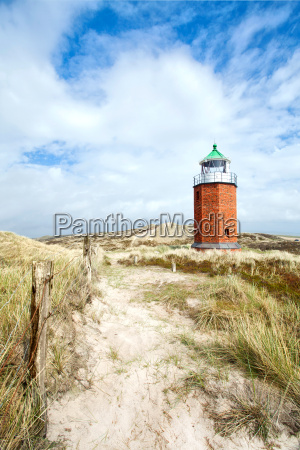 beacon in the dunes