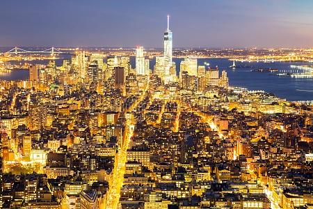 horizonte de la ciudad de nueva