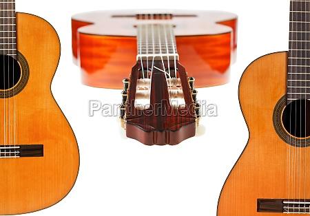 un conjunto de guitarras acusticas espanyoles
