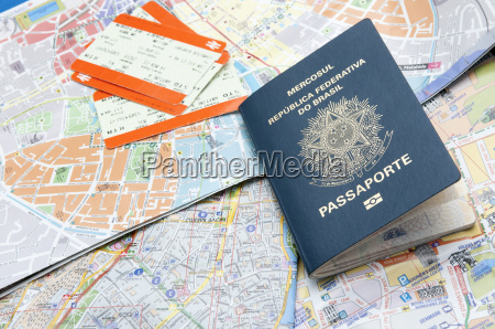 pasaportes mapas y entradas