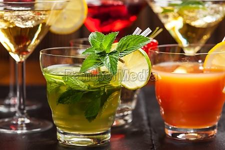 cocteles y longdrinks para el verano