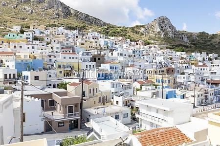 el pueblo menetes en karpathos grecia