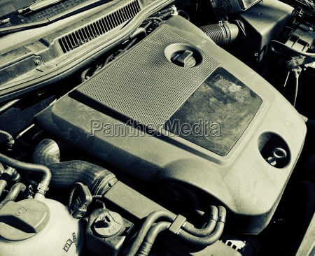 moderna de la helice del motor