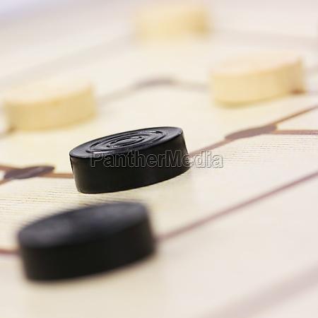 primer plano juego juega molino tablero
